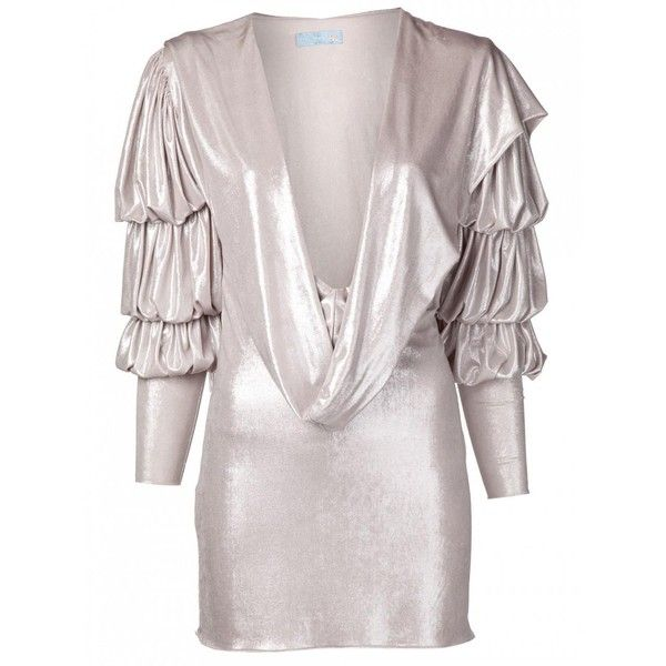Julia clancey - julia clancey silver grace dress ($449) ❤ liked on Polyvore featuring dresses, pink slip, short slip, pink slip dress, long pink dress and long slip dress