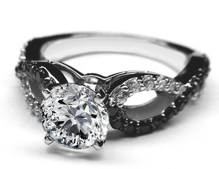 best 25 black diamond wedding rings ideas on pinterest