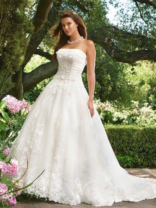 Garden Wedding Dress: Wedding Dressses, Lace Wedding Dresses, Dresses Style, Ball Gowns, Weddings, Wedding Gowns, Bridal Gowns, Bridal Casablanca, Ballgown