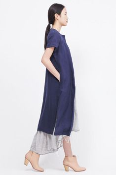Planning to use the Weekend Getaway Dress to make a duster like this.