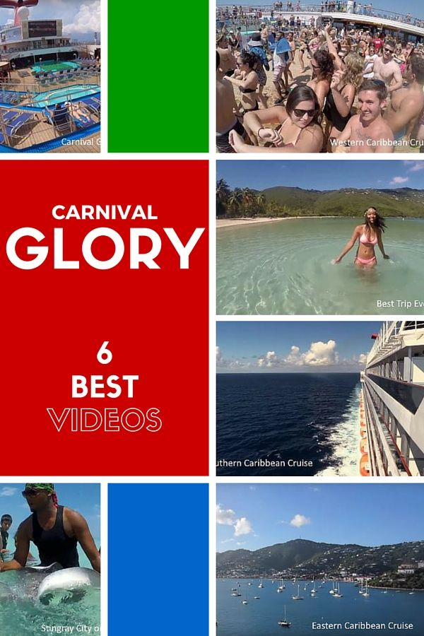 6 best Carnival Glory videos. New, fun and useful videos of the Carnival Glory cruise ship.