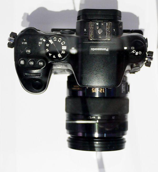 Panasonic Lumix GH4 ? Un proto 4K est montré au CES.