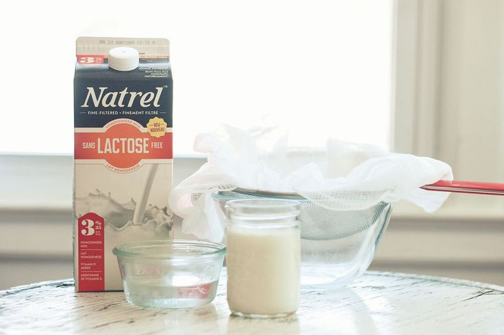 A cream cheese, with Natrel Lactose Free milk, so creamy and smooth you'll be surprised it came from your own kitchen.