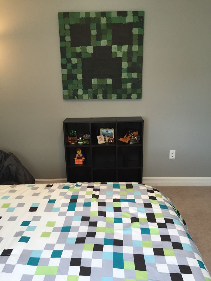 14 Year Bedroom Ideas Boy: Minecraft Theme Bedroom For Seven Year Ild Boy