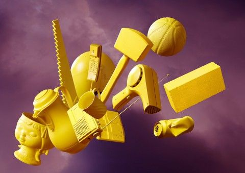 Bartholot photography, still life, yellow objects