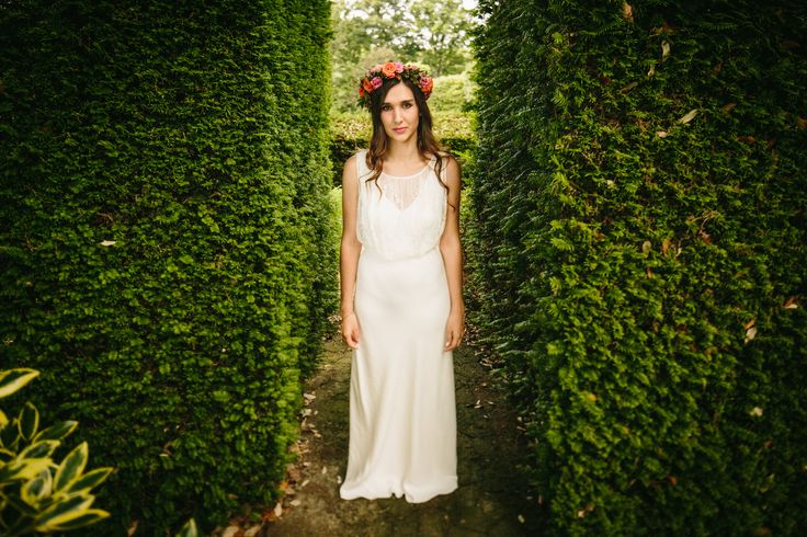 Wedding Photography at Hole Park in the Garden of England.   Alternative Bridal Portraits   Bohemian English Wedding  #rustedrose