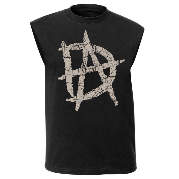 Dean Ambrose Big Logo DA WWE Authentic Sleeveless Mens Muscle T-shirt - http://bestsellerlist.co.uk/dean-ambrose-big-logo-da-wwe-authentic-sleeveless-mens-muscle-t-shirt/