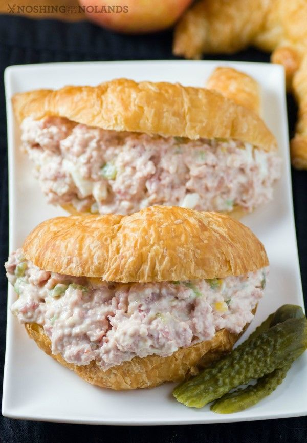 Ham Salad Sandwich by Noshing With The Nolands