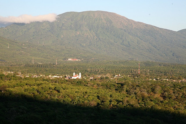 Juayua a pretty village in the midst of coffee plantations,  the warmth of its people contrast with its cool climate.