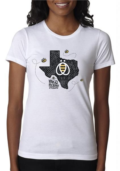 Bee Texas T-Shirt – Me & the Bees Lemonade