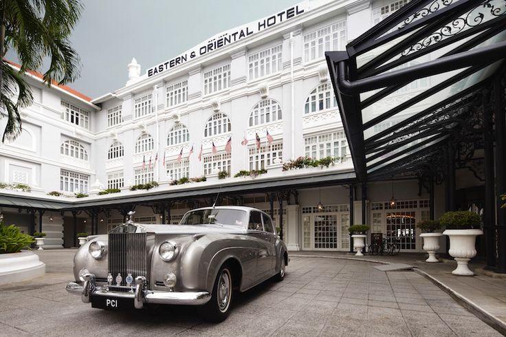 The Eastern & Oriental hotel, Penang.