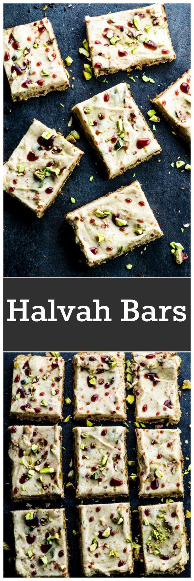 These vegan halvah bars are definitely not your ev…Edit description