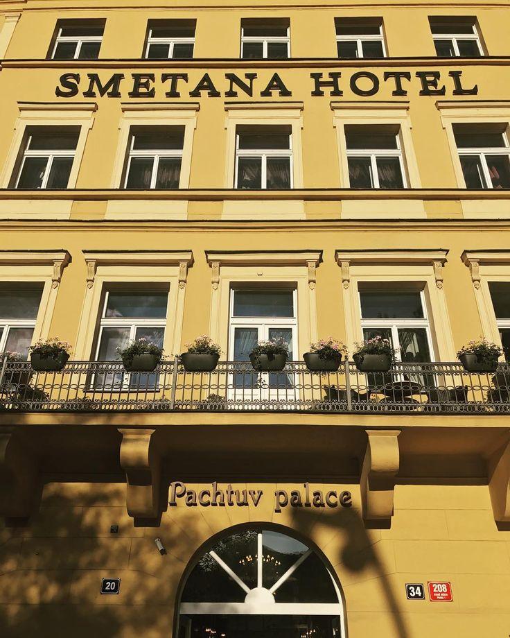 Happy Monday everyone from #SmetanaHotel #Prague #hotel #hotels #entrance #reception #luxury #boutiquehotel #picoftheday #travelgram #travel #instagood #instadaily