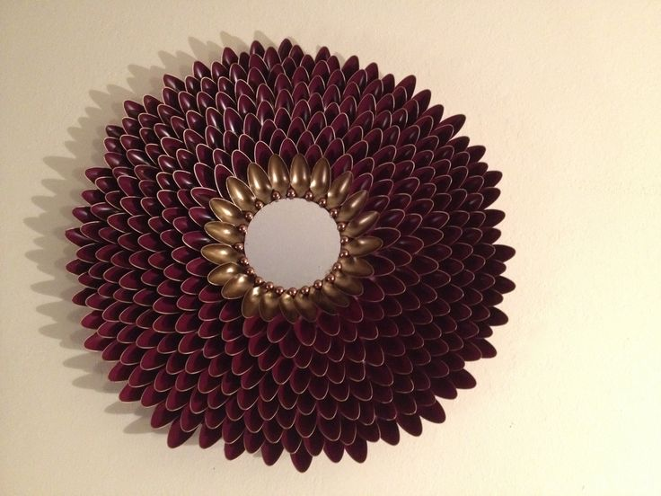 13 Best Images About Diy Spoon Sunburst Wall Art On