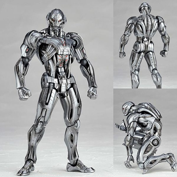 Figure Complex Movie Revo No.002 Ultron from The Avengers Age of Ultron Marvel Kaiyodo [PRE-ORDER]