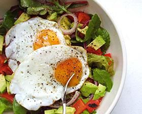 Mesclun Egg Salad