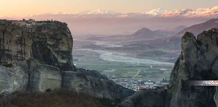 Meteora,early in the morning