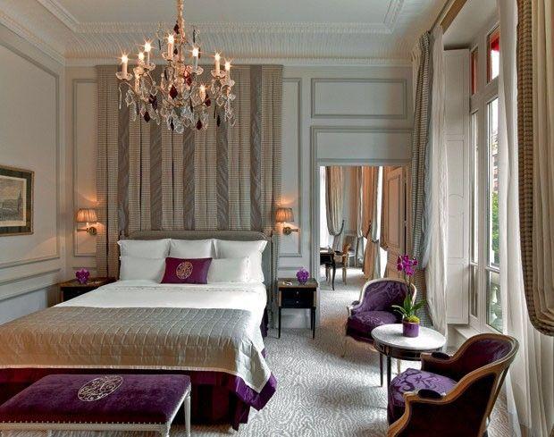 15 quartos incríveis decorados com roxo e lilás