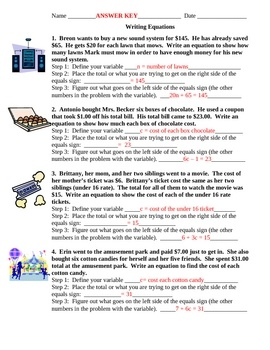 Worksheet Identifying Variables Worksheet 1000 images about dylan worksheets on pinterest equation free writing equations from word problems students are given 4 walk them