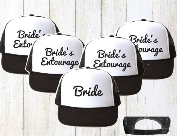 Bridesmaid hat. Bridesmaid gift. Bridal party hats. Bachelorette party  favors. Team Bride trucker hat.Bachelorette party hats 8e87f75bb1b8