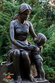 esculturas maternidades