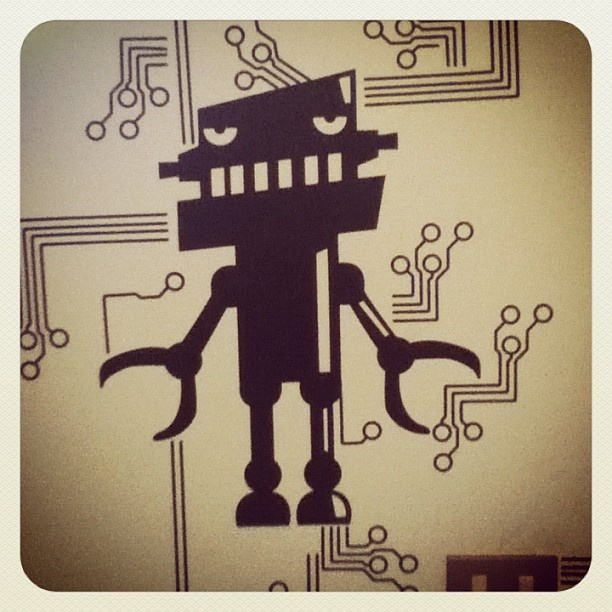 wall stickers robot