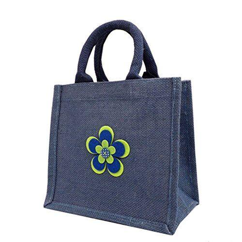Jute Hessian Lunch Gift Bag - Flower Design Yellowboots http://www.amazon.co.uk/dp/B00UANUOA8/ref=cm_sw_r_pi_dp_xYuLwb1VW8MJ5