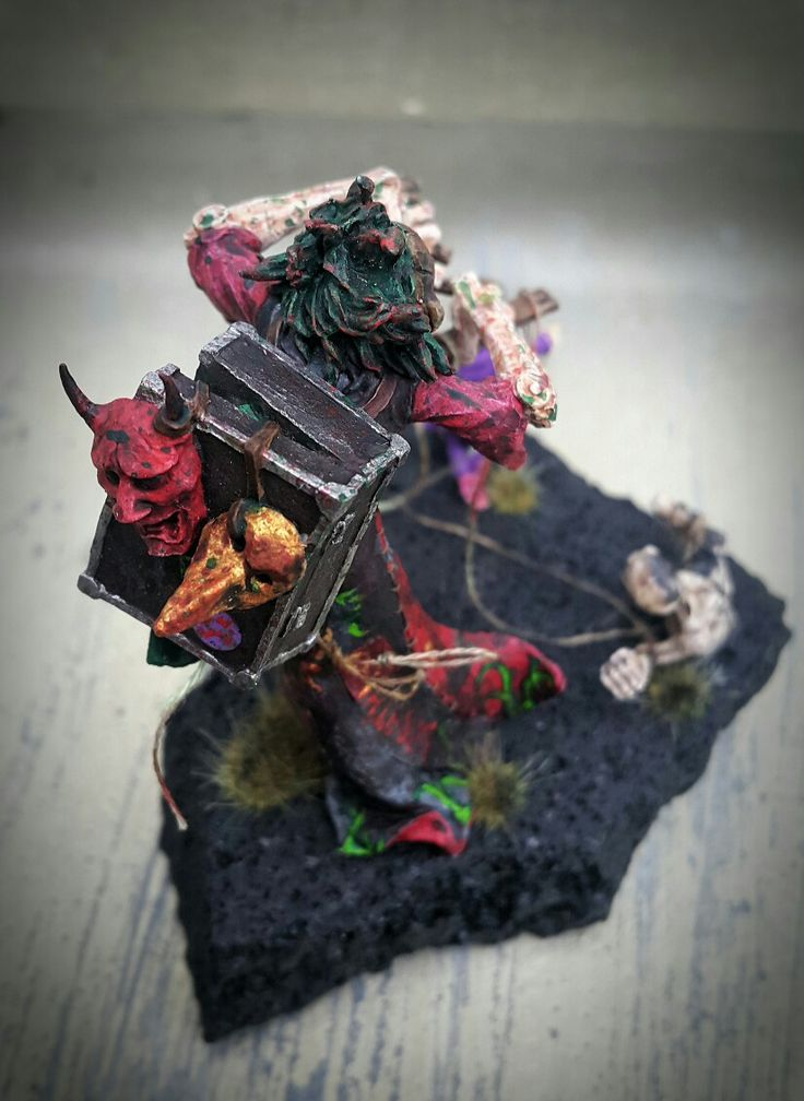 The Puppetter, Miniature from Mindwork Games