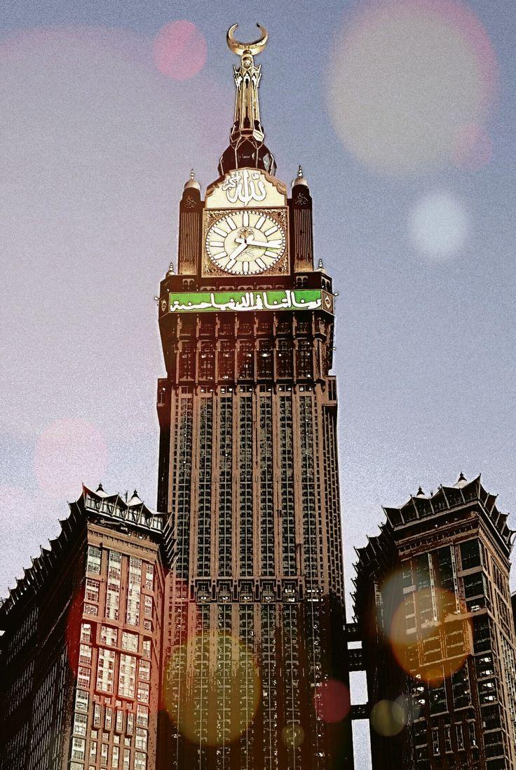 Makkah, tower clock