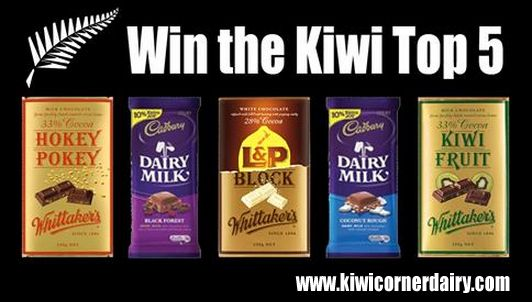 Win the ultimate #Kiwi #chocolate pack at http://on.fb.me/1r07Khj