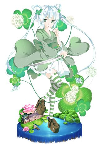 2★: Bianca Clover (Slice)  Flower - White Clover ✿Meaning - Good Luck, Hope, Sincerity, Affection