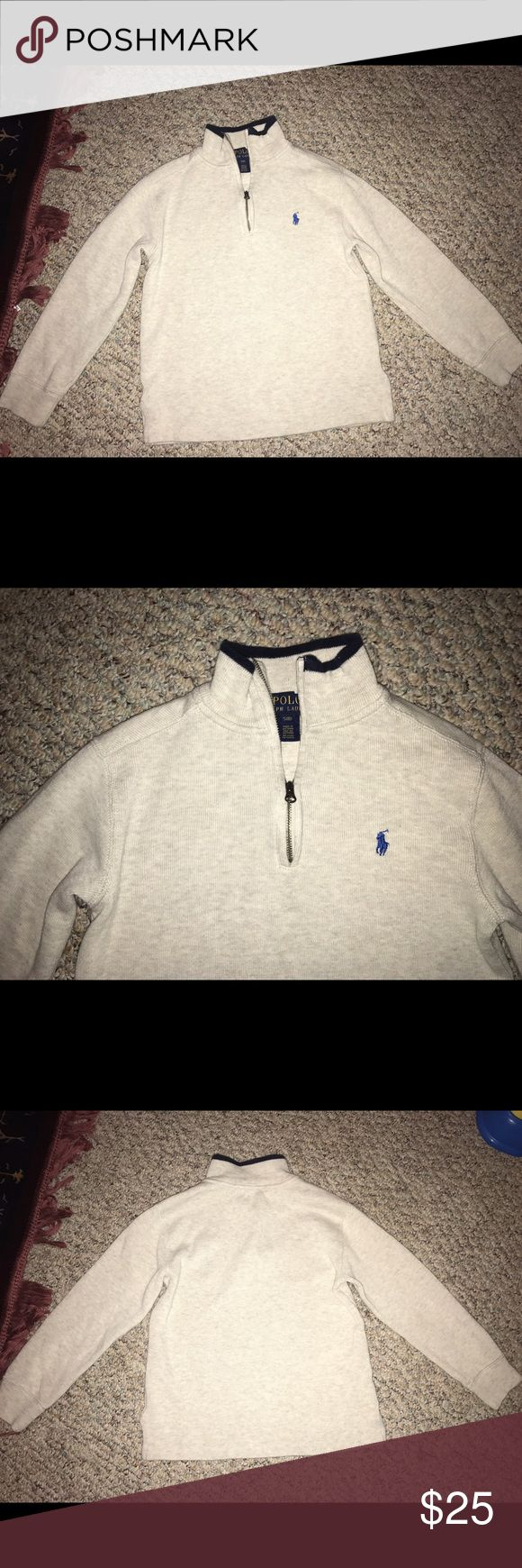 Ralph Lauren Polo Sweater Ralph Lauren Polo Boys half zip sweater. Size 8 boys. Ralph Lauren Shirts & Tops Sweaters