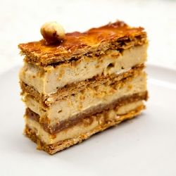 Praline Mille Feuille from Mille-Feuille Bkery in NYC