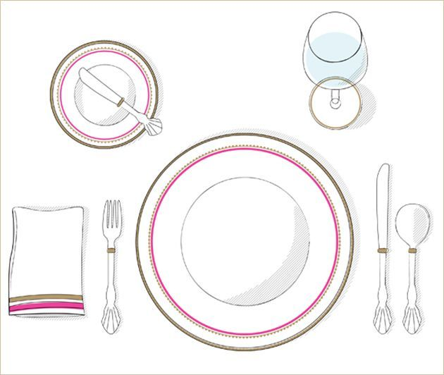 of correct table setting | Found on blog.postmark.com  sc 1 st  Pinterest & 8 best correct table settings images on Pinterest | Place settings ...
