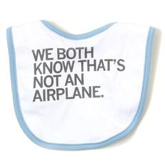 Airplane Bib $9