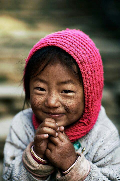 Nepal children.