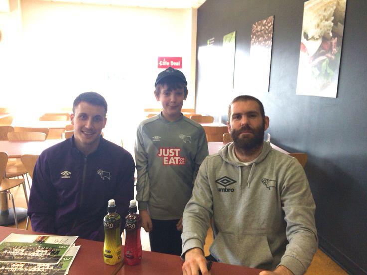 Bucko , Forsyth and my Mal 2/4/15 #DCFC #littleram