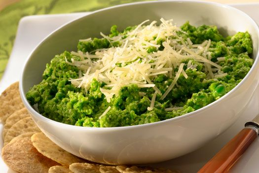 Parmesan Pea Dip - yes, sounds and looks a tad bit sketchy, but it is ...