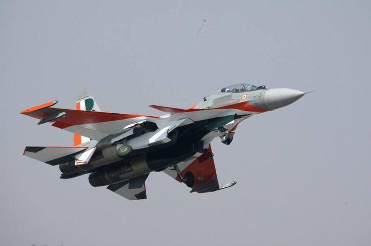 ♠ Sukhoi SU-30MKI #Aircraft #Military #Jet