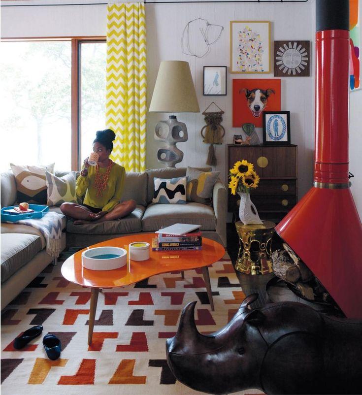 Die besten 25+ Oranger Teppich Ideen auf Pinterest Oranges - wohnzimmer orange rot