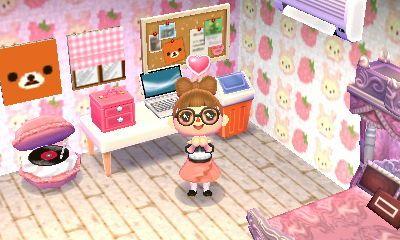 Rilakkuma Themed Room On Animal Crossing The Bell Tree