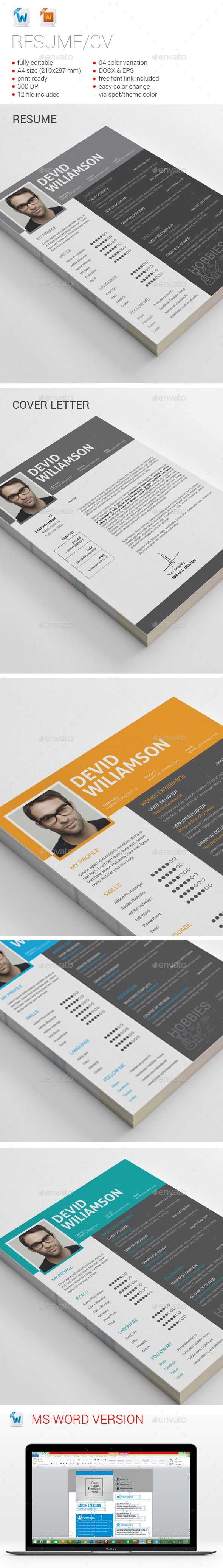 Best Awesome Resume Designs Images On   Resume Design