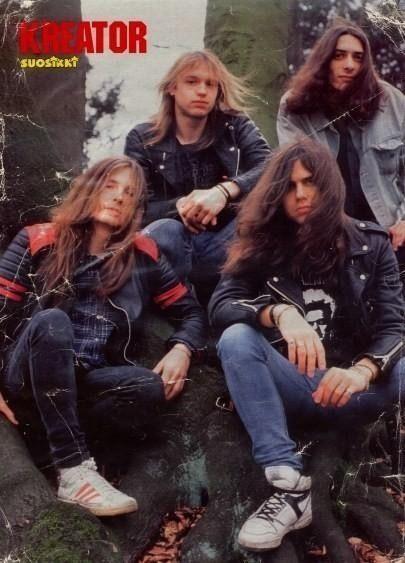 Kreator band thrash metal ! 1984