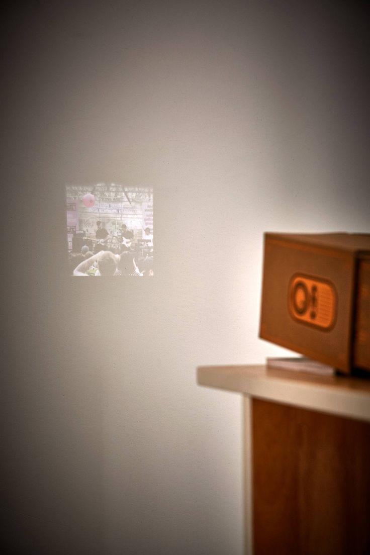 Slide View: 5: Copper Smartphone Projector