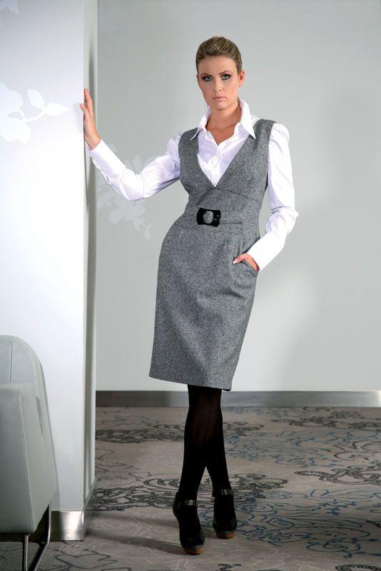 Офисные сарафаны для деловой женщины выкройки