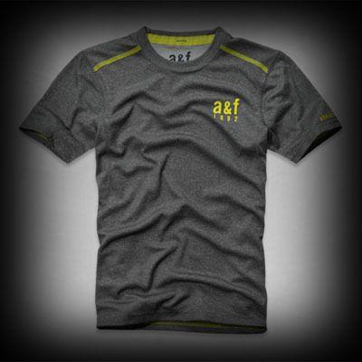 アバクロ メンズ Tシャツ abercrombie a&f active tee Tシャツ★マルチストレッチ生地、サイドに通気性のよい切り替え、ポップカラーのロゴのディテール。 ★ポリエステル-100%で肌ざわり着心地バツグンのスポーツタイプのストレッチTシャツ!