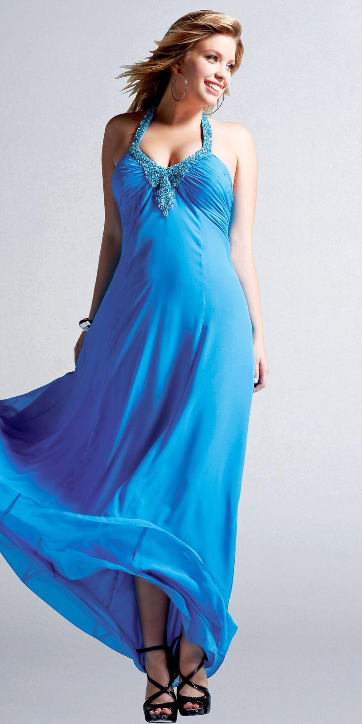 15 best 2014 Plus Size Prom images on Pinterest   Party wear dresses ...