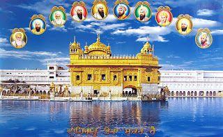 1. Guru Nanak Dev Ji - Guru from-1469 to 1539   2. Guru Angad Dev Ji - Guru from -1539 to1552     3. Guru Amar Das Ji - Guru from -1552 to 1574     4. Guru Ram Das Ji -  Guru from -1574 to 1581   5. Guru Arjun Dev Ji -  Guru from-1581 to 1606       6. Guru Hargobind Ji - Guru from-1606 to 1644   7. Guru Har Rai Ji - Guru from -1644 to 1661    8. Guru Harkrishan Ji - Guru from -1661 to 1664   9. Guru Teg Bhadur Ji - Guru from -1665 to 1675 10. Guru Gobind Singh Ji -  Guru from -1675 to 1708