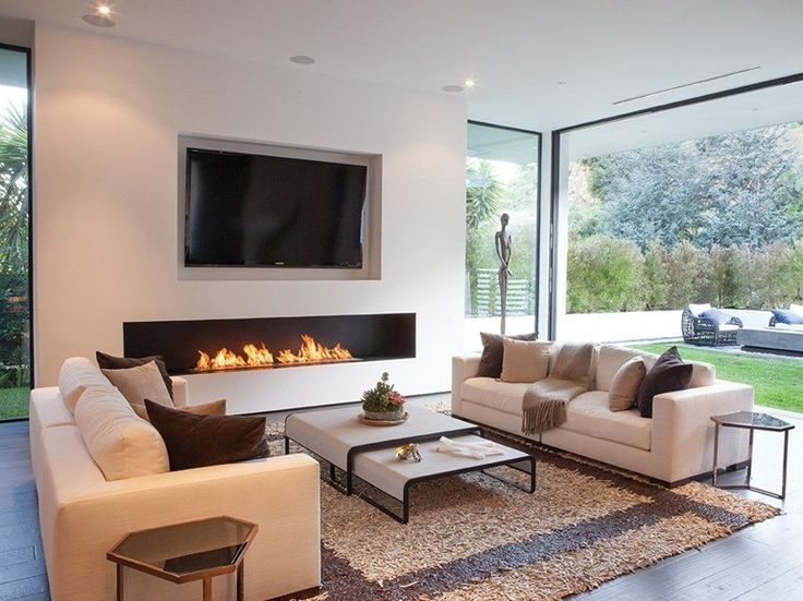 492 Best Linear Fireplaces Linear Contemporary Images On