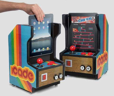 Once I get my iPad, this is my next purchase! iCade. Get me one of these and an iPad ASAP